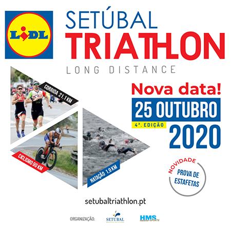 O Setúbal Triathlon 2020 tem uma nova data